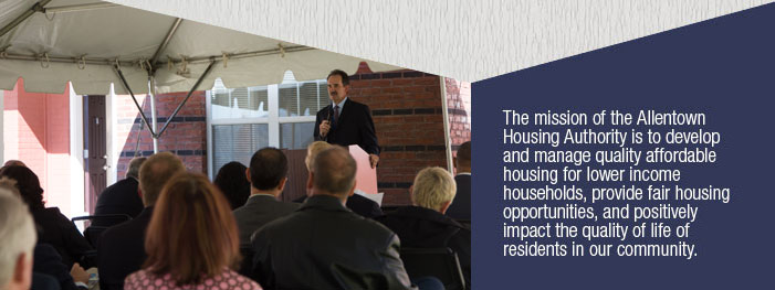 Speaker at Grand Opening of New Housing